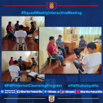 Squad Weekly Interactive Meeting with the guidance of our Values/Life Coach, Mr. Leonicio Sambitan